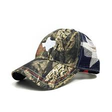 American Flag Camo Hat Mossy Oak Texas Flag Trucker Hat Texas Humor