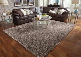 floors u0026 rugs brown furry shaggy rugs for minimalist living room