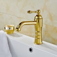 Single Hole Bathroom Sink Faucets High End Polished Brass Filtering Bathroom Faucets Single Hole