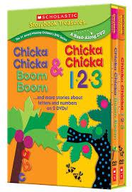 chicka chicka boom boom u0026 chicka chicka 1 2 3 great gift sets
