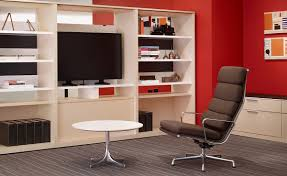 eames chair living room eames soft pad group lounge chair u0026 ottoman hivemodern com