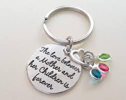 personalized birthstone keychains birthstone keychain etsy