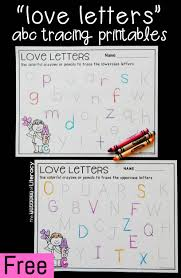 valentine u0027s day alphabet tracing printables for printing practice