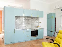 blue modern kitchen cabinets 65 blue kitchen cabinet ideas for your decorating