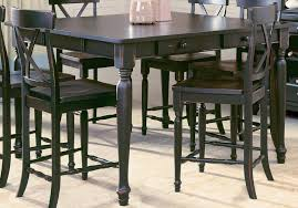 dining room tables for 6 dining room square black tall dining table with storage and set