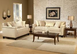 beige fabric contemporary living room sofa u0026 loveseat set