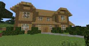 simple two story house minecraft project
