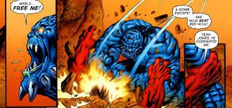 bomb coloussus red hulk battles comic vine
