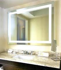 illuminated mirrors for bathrooms illuminated wall mirrors for bathroom akapello com