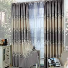 Patterned Blackout Curtains Country Style Floral Patterned Blackout Curtains