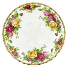royal albert china teacup and saucer country roses