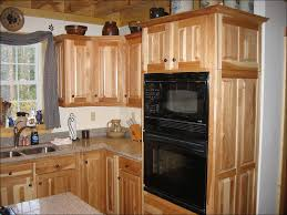 kitchen rustic hickory cabinets home depot hickory cabinets