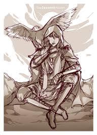 sketch izrail angel of death by pinkstripedmellon on deviantart