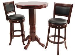 bar stools elegant rustic dining room amazing dark brown small