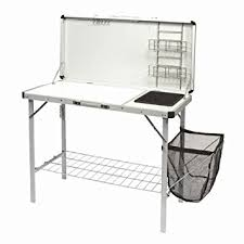 Deluxe Camping Kitchen Stand With Sink Basin Amazoncouk Sports - Camping kitchen with sink