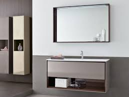 bathroom 31 floating wall mount tempered glass bathroom vanity