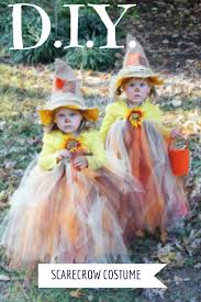 Easy Toddler Halloween Costume Ideas Diy Scarecrow Tutu Halloween Costume Halloween Costumes Tutu