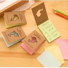colored writing paper online get cheap color paper note aliexpress com alibaba group kraft paper hollow dolphin colored sticky notes cartoon cute post it memo pads office school