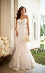 lace wedding gown lace wedding dress stella york wedding gowns