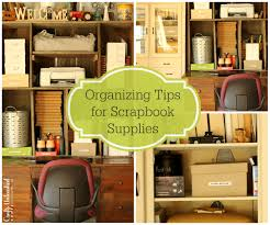 organzing organizing tips for scrapbook supplies crafts unleashed