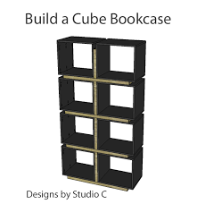 Easy To Build Bookshelf Fabulously Easy To Build Bookcases U2013 Designs By Studio C