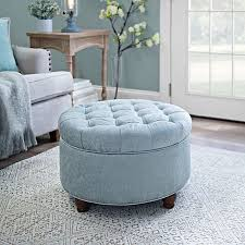 round dressing room ottoman best of velour storage ottoman with best 25 ottoman stool ideas on
