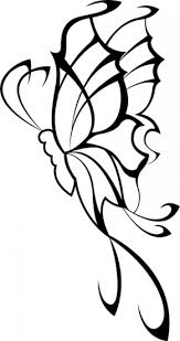 tribal butterfly tattoos images flash