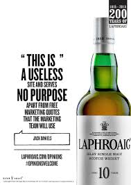 Whisky Meme - laphroaig whisky invites real opinions unleashes meme builder for