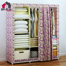 easy storage closet oxford cloth fabric large wardrobe closet