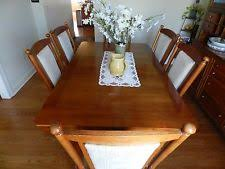 Table With 6 Chairs Oak Table And Chairs Ebay