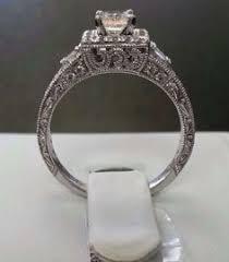 neil emerald cut engagement rings neil emerald cut ring horizontally set in platinum