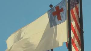 Christian Flag Images Atheists Demand Public Take Down Christian Flag Then
