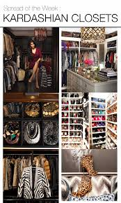 spread of the week kardashian closets khloe kardashian