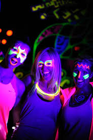 Blacklight Halloween Party Ideas by 24 Best Glow Run 5k And Other Marathons Images On Pinterest Glow