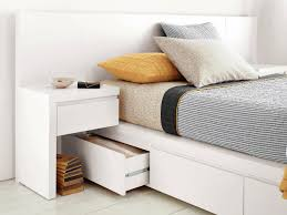 nightstands bedroom side tables narrow nightstand with drawers