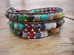 multi wrap bracelet images Multicolor gemstone 3x wrap bracelet michele saulson designs jpg