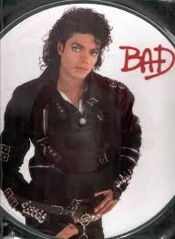 Michael Jackson Bad Album Picture Discs