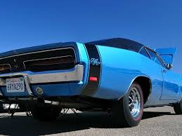 Dodge Muscle Cars - blue dodge rt muscle car
