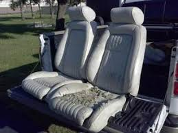 fox mustang seats mustang seats ebay