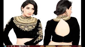 latest boat neck blouses designs front and back 2016 latest