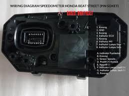 wiring diagram speedometer honda beat child garasi