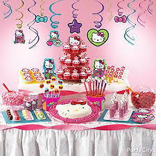 Hello Kitty Party Decorations Hello Kitty Party Ideas Party City