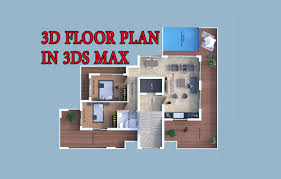 how to make 3d floor plan 3ds max part i youtube