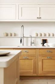 white and wood kitchen cabinet ideas two tone cabinets are the commitment phobe s answer to