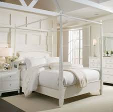 bedroom king size bed with lowest bed frame combined with canopy