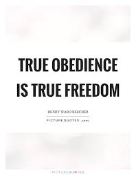 Blind Obedience To Authority Freedom And Blind Obedience