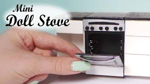 miniature dollhouse kitchen furniture miniature oven stove tutorial dollhouse stove youtube