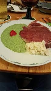 la cuisine allemande le paleron sauce verte et choux type wasabi il faut aimer la