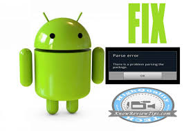 problem parsing apk fix there is a problem parsing the package error in android