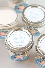 christening party favors baptism favor candles easy diy handmade favors